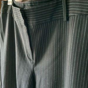 Alfani size 12 black pinstriped slacks (2/$12)